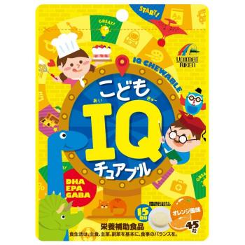 Витамины Unimat Riken Children's IQ -детские витамины для мозговой активности