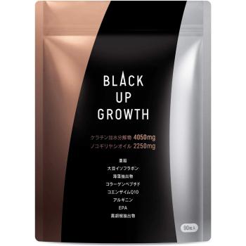 Комплекс для ухода за волосами BLACK UP GROWTH Saw Palmetto Кератин