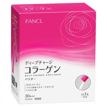 FANCL DEEP CHARGED COLLAGEN POWDER -HTC коллагеновый порошок Fancl с гиалуроновой кислотой