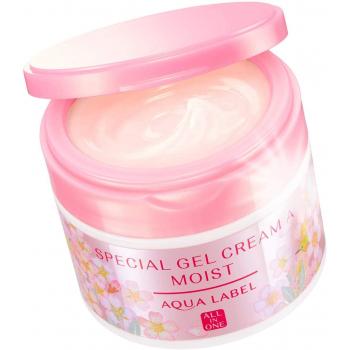 Увлажняющий  гель-крем  AQUALABEL  Special Gel Cream A от морщин  с ароматом вишни