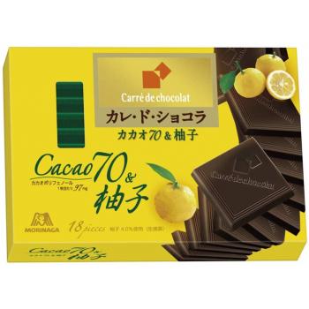Шоколад со вкусом Юзу Morinaga Carre de Chocolat