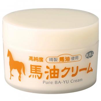 Azuma Shoji Horse Oil Cream - универсальный увлажняющий крем с лошадиным маслом