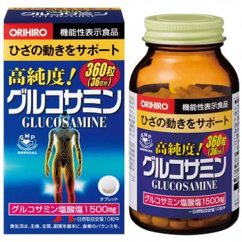 ORIHIRO Глюкозамин для здоровых суставов- 360 таб