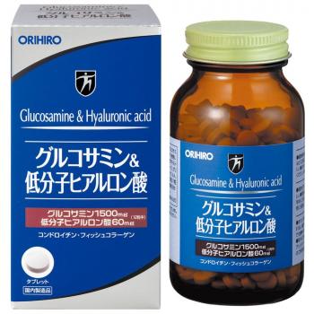 Глюкозамин +Низкомолекулярная Гиалуроновая кислота для здоровья суставов ORIHIRO