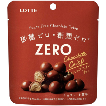 Шоколод без содержания сахара Lotte Zero Sugar Free  28 гр