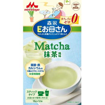 МORINAGA E MOM MATCHA FLOVOR - чай Matcha без кофеина для беременных женщин