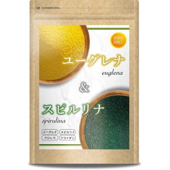 Комплекс для очищения организма и снижения веса   Euglena & Spirulina