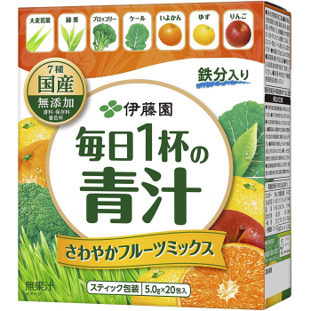 AOJIRU Green Juice фруктовый микс