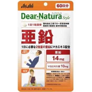 ASAHI ZINC DIANATURA 60 - цинк и мака для стрессоустойчивости и прекрасного настроения