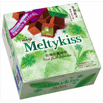 MEIJI MELTYKISS FIRST FLUSH GREEN TEA -шоколадные конфеты