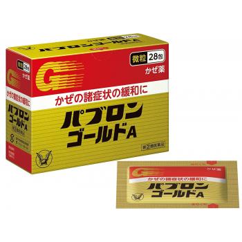 PABURON GOLD A FINE GRAIN 28  саше от простуды и гриппа