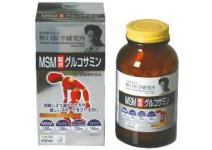 MSM & GLUCOSAMIN MEIJI  -для восстановления хрящевой ткани