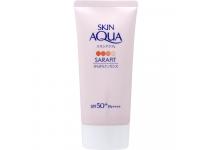 Skin Aqua Sarafit UV Smooth Essence SPF50+ PA++++ увлажняющий санскрин,цветочный аромат