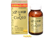 Комплекс замедляющий процессы старения организма Maruman α-Lipoic Acid & CoQ10