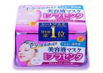 Глубокоувлажняющая  маска для лица с экстрактом плаценты   Kose Mask Placenta