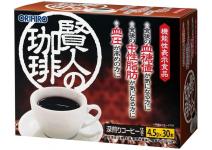 Растворимый кофейный напиток при повышеном артериальном давлении и для снижения сахара в крови ORIHIRO Sage's Coffee