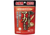 ORIHIRO SUPPORT MACA 60  - комплекс мака +экстракт женьшеня +экстракт панциря черепахи 60 дней