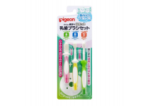 PEGION MILK TOOTHBRUSH SET -набор зубных щеток для молочных зубов