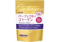 Asahi Collagen Powder Premier Rich -экстракт плаценты, низкомолекулярный и нано коллаген