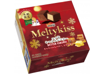 Melty Kiss Butter Caramel - сезонный шоколад с начинкой из сливочной карамели Meiji