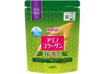 Meiji Amino Collagen Matcha Flavor -амино коллаген Meiji с глюкозамином,витамином C вкус чая  Matcha