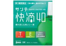 Sante Kaiteki 40 SANTE KAITEKI 40 -глазные капли для профилактики возрастных изменений