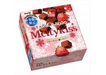 MEIJI MELTY KISS FRUITY STRAWBERRY -шоколадные конфеты