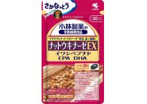 NATTOKINAZE EX KOBAYASHI c Omega 3 жирными кислотами