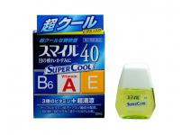 SMILE 40 EX SUPER COOL - глазные капли с витаминами и аминокислотами
